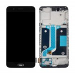 Lcd With Touch Screen For Oneplus 5 Black By - Maxbhi Com