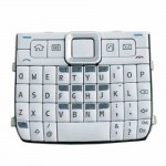 Keypad For Nokia E63 White
