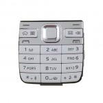 Keypad For Nokia E52 Silver - Maxbhi Com