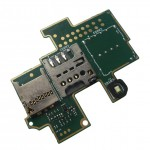 MMC + Sim Connector for Sony Xperia M C1904