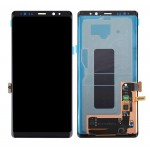 Lcd With Touch Screen For Samsung Galaxy Note 9 Black By - Maxbhi Com