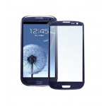 Replacement Front Glass For Samsung I9300i Galaxy S3 Neo Blue By - Maxbhi.com