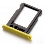 Sim Tray For Apple iPhone 5C  Yellow