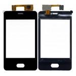 Touch Screen Digitizer For Nokia Asha 501 Black By - Maxbhi Com