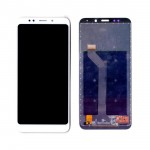 Lcd With Touch Screen For Xiaomi Redmi Note 5 White By - Maxbhi Com