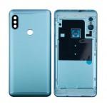 Back Panel Cover For Xiaomi Redmi Note 5 Pro Blue - Maxbhi Com