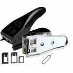 Dual Sim Cutter For Apple iPhone 4, 4G With Eject Pin