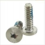 Screw Set For Apple iPhone 4S 2 Star Pentalobe screws