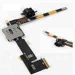 Sim Connector Flex Cable For Apple iPad 2 with Headphone Jack