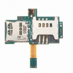 Sim Connector Flex Cable For Samsung Galaxy S I9000 With MMC Connector
