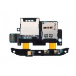 Sim Connector Flex Cable For Htc Desire S S510e G12 With Mmc Connector Black - Maxbhi Com
