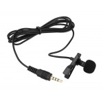 Collar Clip On Microphone for Samsung Galaxy J2 2015 - Professional Condenser Noise Cancelling Mic by Maxbhi.com