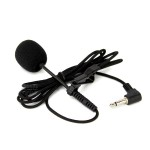 Collar Clip On Microphone for A&K A555 - Professional Condenser Noise Cancelling Mic by Maxbhi.com