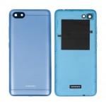 Back Panel Cover For Xiaomi Redmi 6a Blue - Maxbhi Com