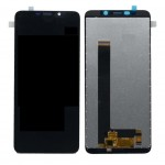 Lcd With Touch Screen For Mobiistar C2 Black By - Maxbhi Com
