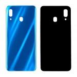 Back Panel Cover For Samsung Galaxy A30 Blue - Maxbhi Com