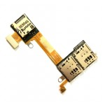 Sim Connector Flex Cable for Sony Xperia M2 dual D2302