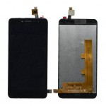 Lcd With Touch Screen For Spice V801 Black By - Maxbhi Com