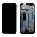 Lcd With Touch Screen For Mobiistar X1 Notch Black By - Maxbhi Com