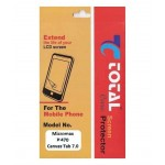 Screen Guard For Micromax Canvas Tab P470 Ultra Clear Lcd Protector Film - Maxbhi.com