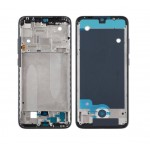 Lcd Frame Middle Chassis For Xiaomi Mi A3 Black By - Maxbhi Com