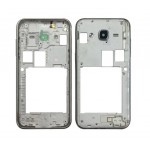 Lcd Frame Middle Chassis For Samsung Galaxy J2 2015 Black By - Maxbhi Com