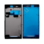 Lcd Frame Middle Chassis For Sony Xperia Z Ultra Black By - Maxbhi Com