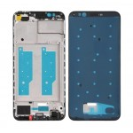 Lcd Frame Middle Chassis For Huawei Honor 7c Black By - Maxbhi Com