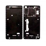 Lcd Frame Middle Chassis For Lenovo K3 Note Black By - Maxbhi Com