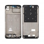 Lcd Frame Middle Chassis For Vivo Y15 2019 Black By - Maxbhi Com