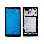 Lcd Frame Middle Chassis For Xiaomi Redmi Note 4g Black By - Maxbhi Com
