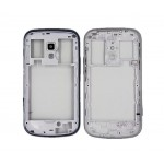 Lcd Frame Middle Chassis For Samsung Galaxy S Duos 2 S7582 Black By - Maxbhi Com