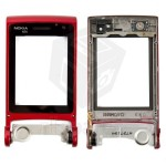 Hinge For Nokia N76 - Red