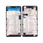 Lcd Frame Middle Chassis For Lenovo A6000 Plus Red By - Maxbhi Com