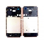Lcd Frame Middle Chassis For Sony Xperia E3 Dualcopper By - Maxbhi Com