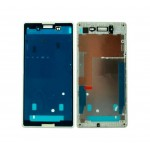 Lcd Frame Middle Chassis For Sony Xperia E3 Dualwhite By - Maxbhi Com