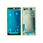 Lcd Frame Middle Chassis For Sony Xperia E3 Dualyellow By - Maxbhi Com
