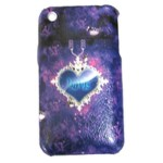 Back Cover For Apple iPhone 3GS - Blue