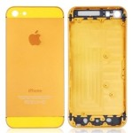 Back Cover For Apple iPhone 5 - Gold
