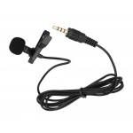 Collar Clip On Microphone for Xiaomi Redmi Note 9 - Professional Condenser Noise Cancelling Mic by Maxbhi.com