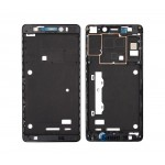 Lcd Frame Middle Chassis For Lenovo A7000 Black By - Maxbhi Com