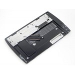 D Cover For Sony Ericsson XPERIA X10 mini pro2 - Black