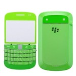 Front & Back Panel For BlackBerry Bold Touch 9900 - Green