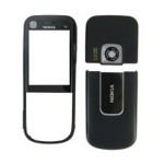 Front & Back Panel For Nokia 6720 classic - Black