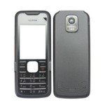 Front & Back Panel For Nokia 7210 - Grey