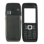 Front & Back Panel For Nokia E51 - Black