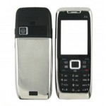 Front & Back Panel For Nokia E51 - Silver