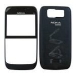 Front & Back Panel For Nokia E63 - Blue