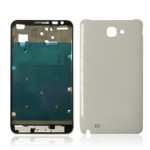 Front & Back Panel For Samsung Galaxy Note N7000 - White
