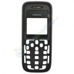 Front Cover For Nokia 1208 - Black
